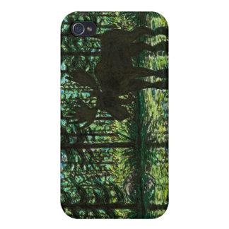 Moose Silhouette iPhone 4 Case