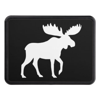 Moose Silhouette Tow Hitch Cover
