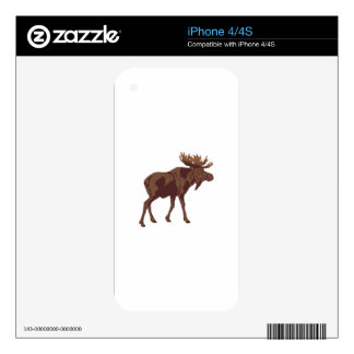 Moose Decals For The iPhone 4S
