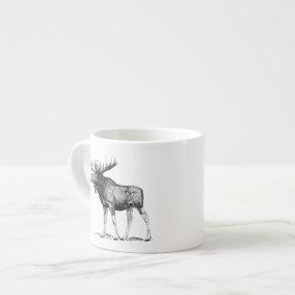 Moose 6 Oz Ceramic Espresso Cup