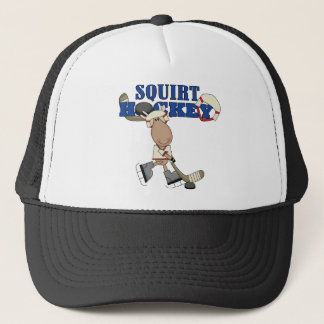 Moose Squirt Hockey Tshirts and Gifts Trucker Hat