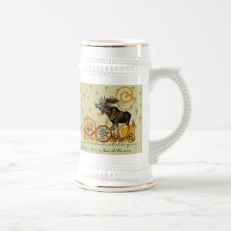 Moose Stein-Walden, Henry David Thoreau Quote Coffee Mug
