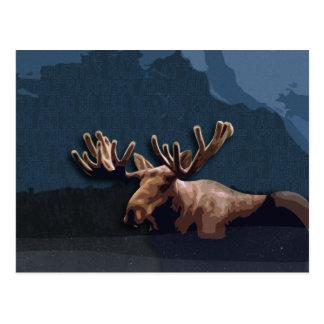Moose Talk Postcard