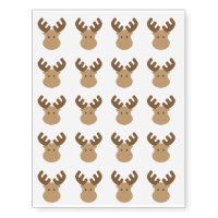 Moose Temporary Tattoos