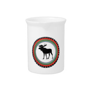 MOOSE TO SHOW BEVERAGE PITCHER