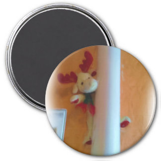 moose toy 3 inch round magnet