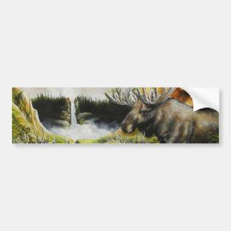 Moose~ una pintura en productos adaptables pegatina para auto