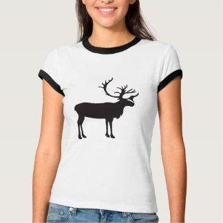 Moose Vintage Wood Engraving T Shirt