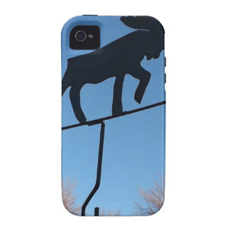 Moose weathervane iPhone 4 cases
