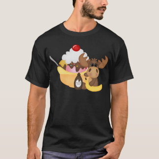 Moose with banana spilt T-Shirt
