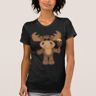 Moose with ice cream shirts