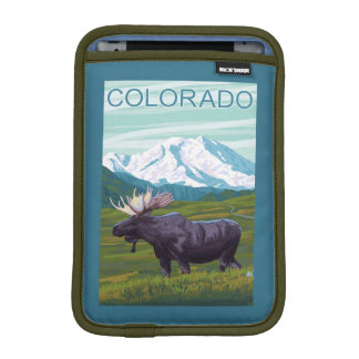 Moose with MountainColorado iPad Mini Sleeve