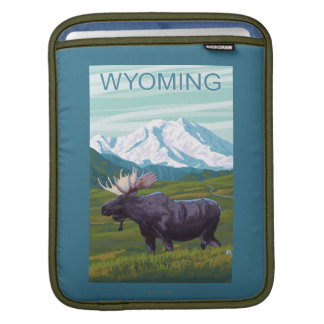 Moose with MountainWyoming Sleeve For iPads