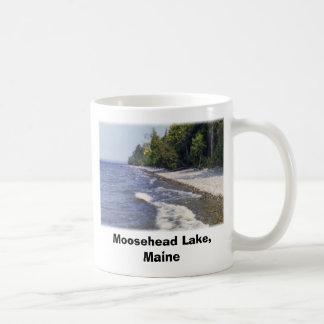 Moosehead Lake,  2 Classic White Coffee Mug