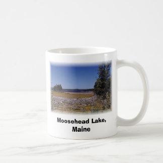 Moosehead Lake, Maine Classic White Coffee Mug