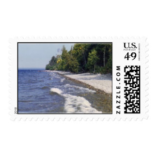 mooseheadlake2a1 postage stamp