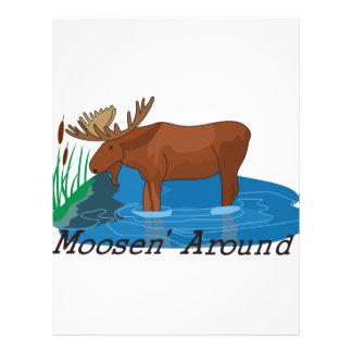 Moosen Around Letterhead
