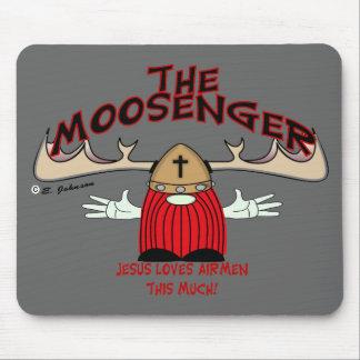 Moosenger Airmen Mouse Pad