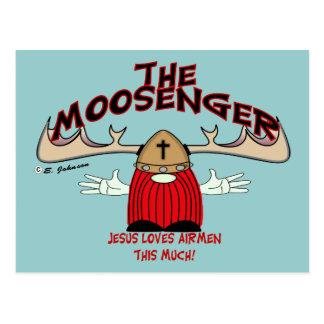 Moosenger Airmen Postcard