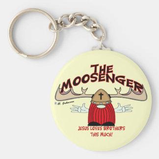 Moosenger Brothers Keychain