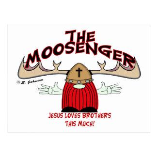 Moosenger Brothers Postcard