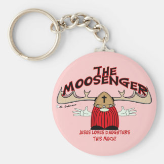 Moosenger Daughters Keychain