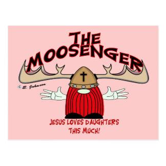 Moosenger Daughters Postcard