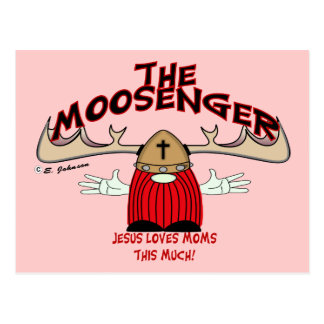 Moosengr Moms Postcard