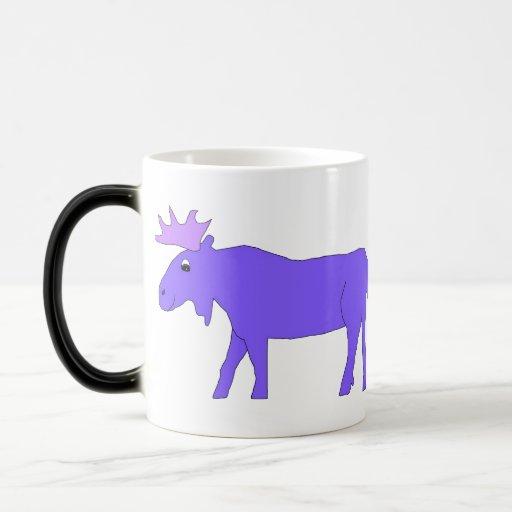 moosepurple, moosepurple 11 oz magic heat Color-Changing coffee mug