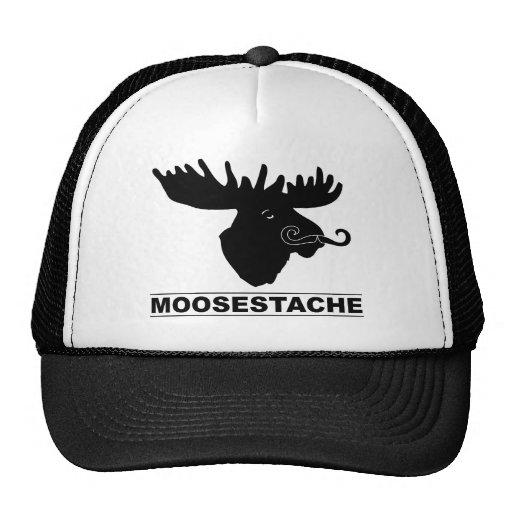 Moosestache Trucker Hat