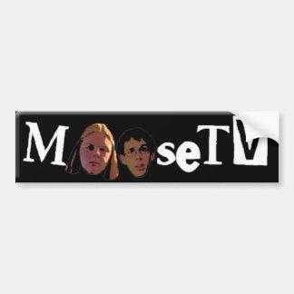 MooseTV Bumper sticker