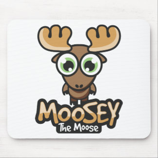 Moosey Button Mouse Pad