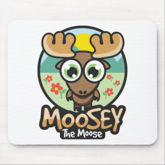 moosey spring mouse pad