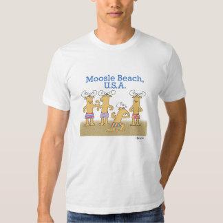 Moosle Beach, USA Shirts