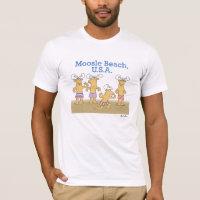 Moosle Beach, USA T-Shirt