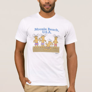 Moosle Beach, USA T-Shirt