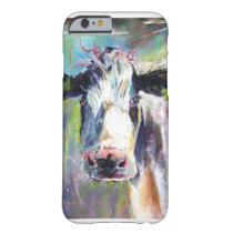 """"""" Moosli """" Cow iphone cover"""