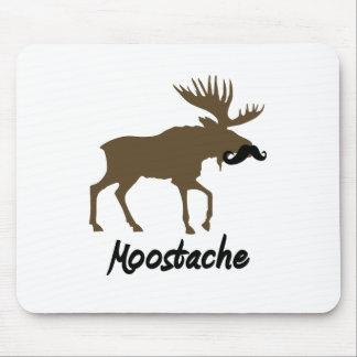 Moostache Mouse Pad
