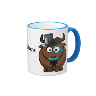 Moostache Ringer Coffee Mug