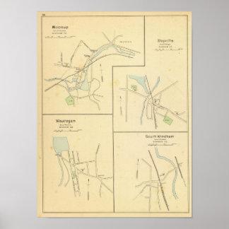 Moosup, Dayville, Wauregan, S Windham Poster
