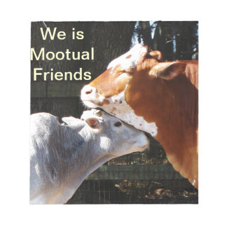 Mootual Cow Friends Notebook Note Pad