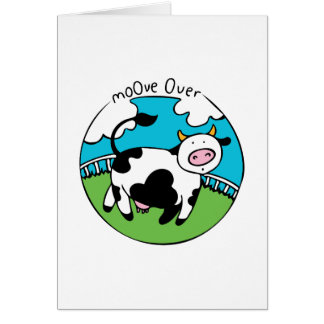 Moove Over Card