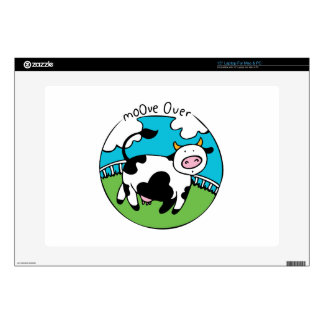 """Moove Over Decals For 15"""" Laptops"""