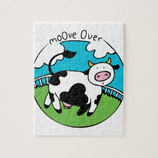 Moove Over Jigsaw Puzzle