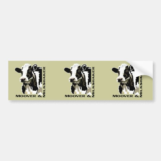 Moover Dairy Cow Bumper Sticker