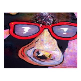 MOOvie Star COW Postcard