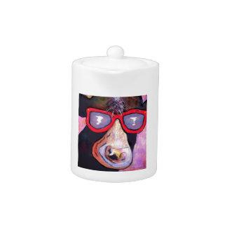 MOOvie Star COW Teapot