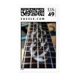 MOP guitar neck inlay Stamp