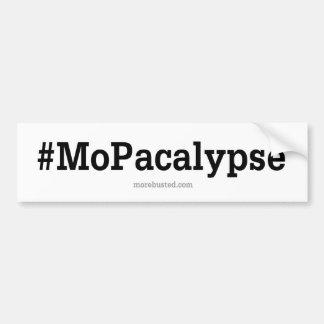 """MOPACALYPSE - Hashtag """"tráfico """" Pegatina Para Coche"""