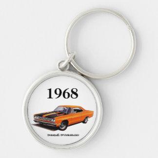 Mopar - 1968 Plymouth Road Runner - Satellite Keychain